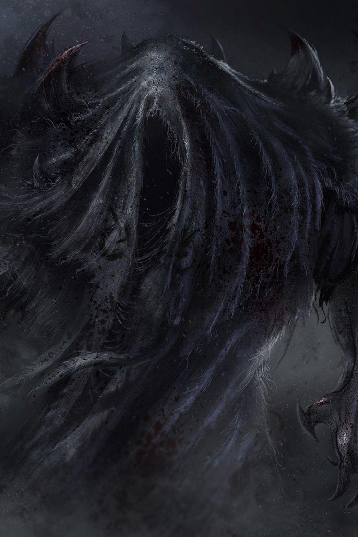 Monster Dark Fantasy 720x1280 Wallpaper