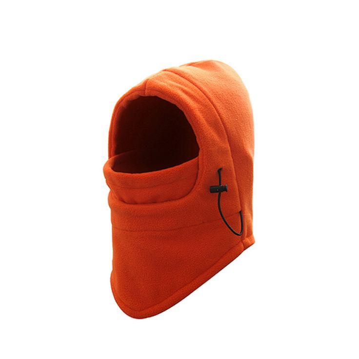 Winter Warm Fleece Beanies Hats for Men Skull Bandana Neck Warmer Balaclava Ski Snowboard Face Mask Wargame Special Forces Mask