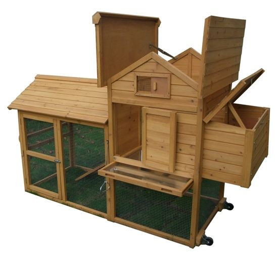 24 best favourite hen coops images on pinterest chicken for Portable hen house