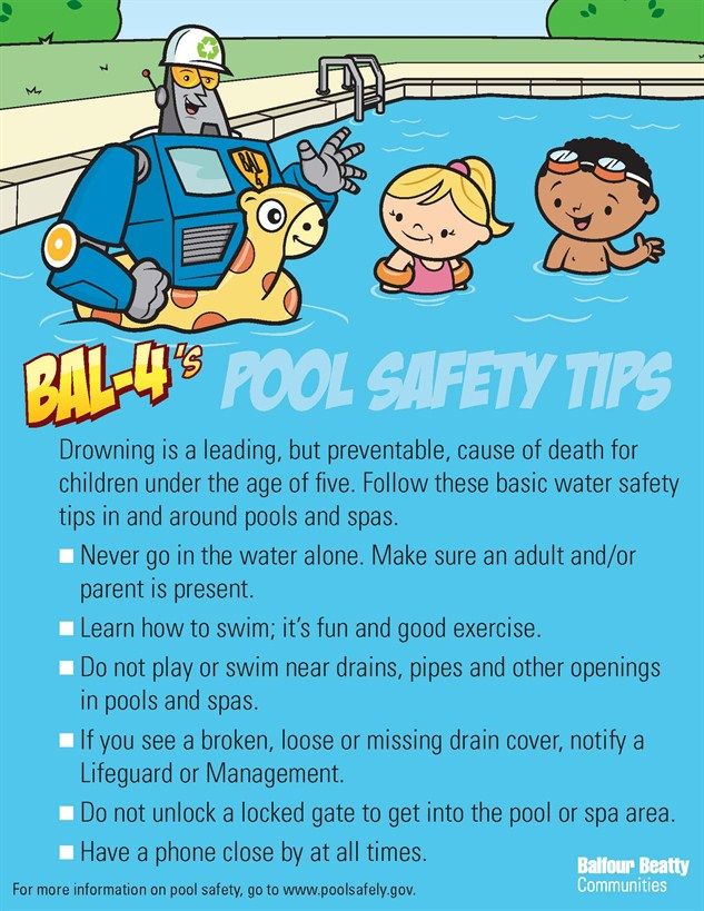 Pool Safety Tips, reminders for everyone! Have a SAFE ...