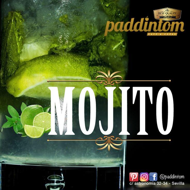 #Paddintom Café y Copas, os presenta una opción ideal para este #verano : El #MOJITO  🍸 Clásico o de frutas (con pulpa o tacos de #mango), es un popular cóctel cubano que se compone de #Ron, azúcar, limón, agua mineralizada, menta y la mejor #hierbabuena. 🍹  No dudes en diseñar tu mojito con frutas del bosque. #verano2017 #summer #salirenSevilla #salirdecopas #venAverme #cocktail #cocktail #picoftheday #instagood #luxury #terraza #sevilla #amigos #grupodeamigos #cartaDecocteles #friends…