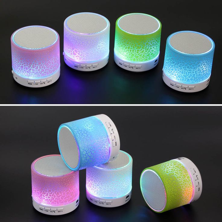 100% Brand New MINI Wireless Bluetooth Speaker USB speakers Portable Music Sound Box Subwoofer hand-free call LED Speaker