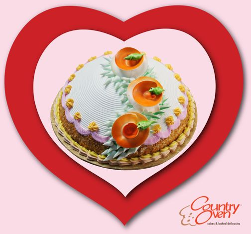 Romance is the icing but love is the cake #cakes http://www.countryoven.in/Order/Fancy-Cakes-Online