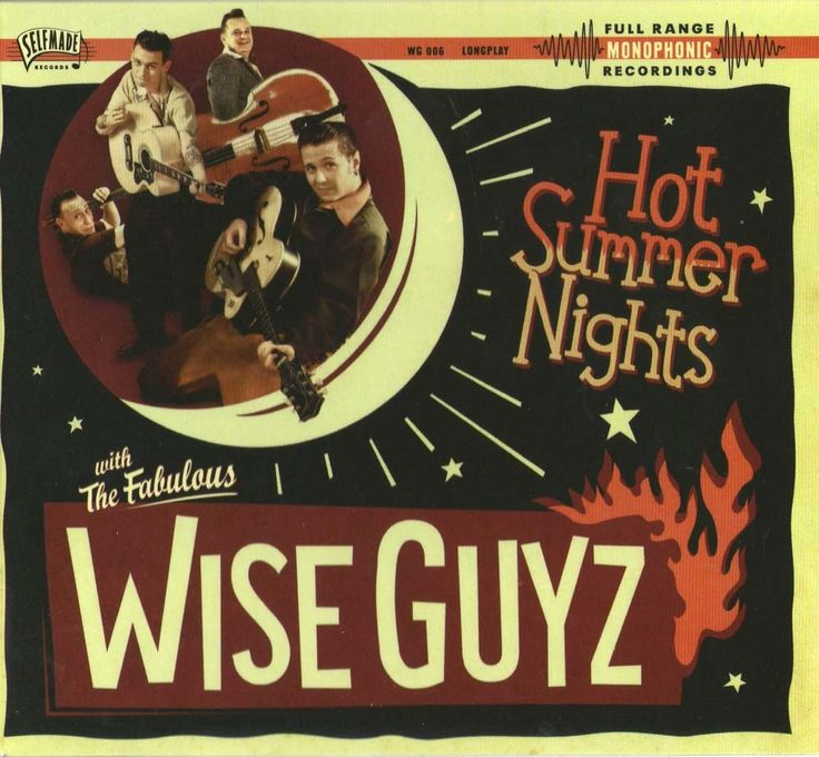The Wise Guyz - new album on CD digipack - Great rockabilly combo