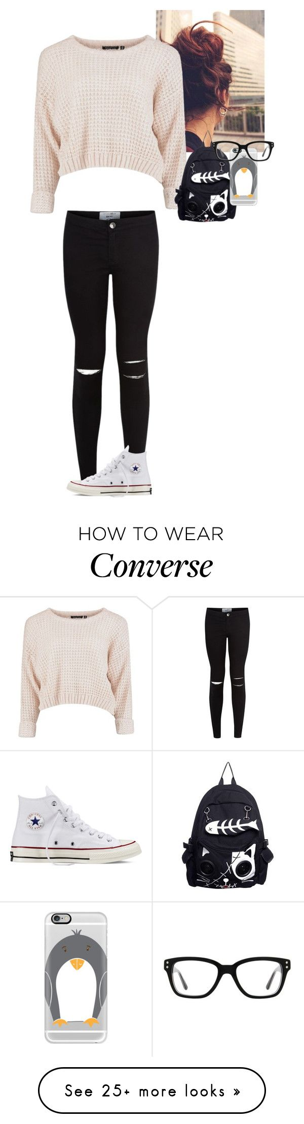 """Random:20"" by lovefood-1167 on Polyvore featuring Converse and Casetify"