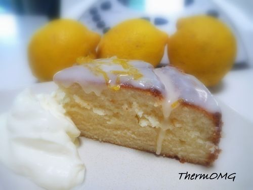 Lemon Delicious Cake
