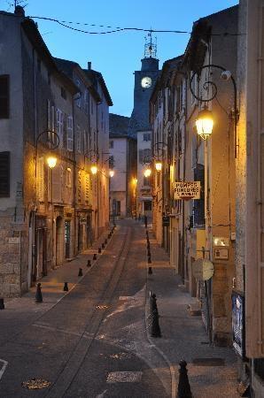 Street in Lorgues, France