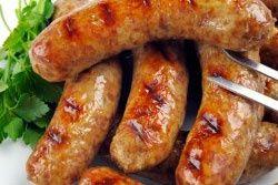 Hot Italian Garlic Sausage   Butcher At Home