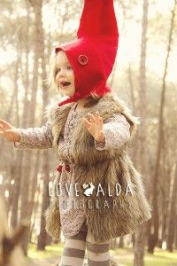 children photography woods gnome magical catching fireflies