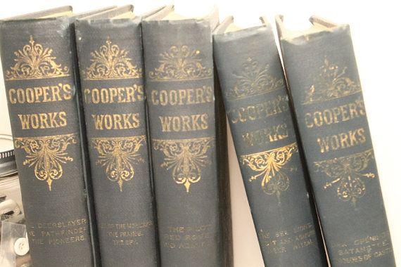 James Cooper Book James F Cooper Book The by ClockworkRummage, $19.00
