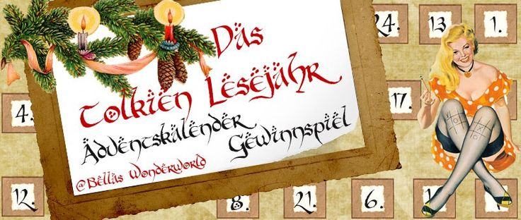 Ankündigung | Adventskalender Gewinnspiel #TolkienYear