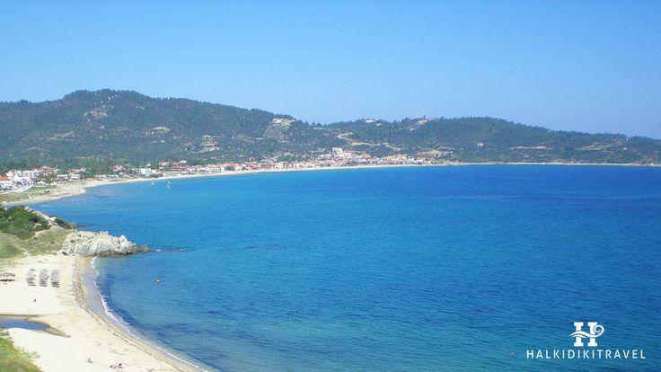 #Sarti #beach in #Halkidiki. Visit www.halkidikitravel.com for more info. #HalkidikiTravel #travel #Greece