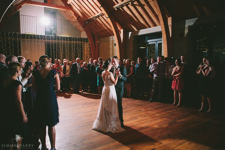 Love is in the air... first dance at The Rippon Hall. Wanaka Wedding, New Zealand