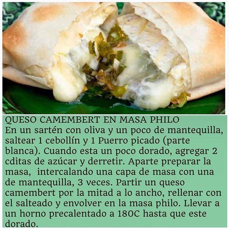 Queso camembert en masa philo VIRGINIA DEMARIAS