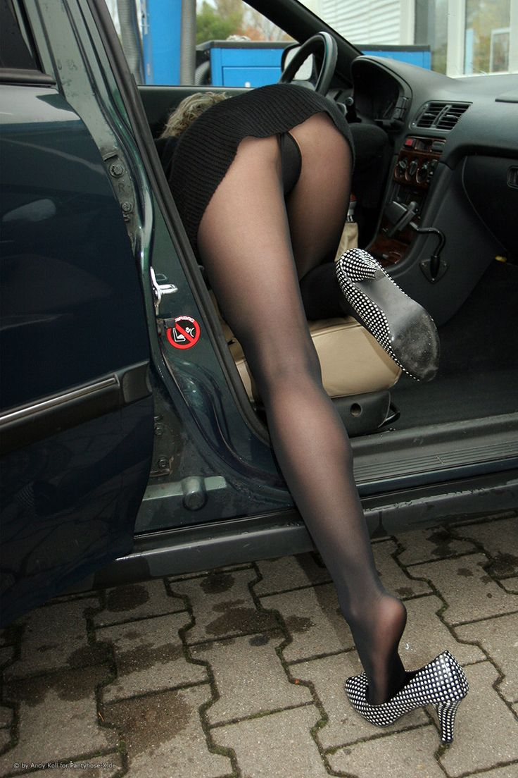 Just A Little Further   Nylons, Pantyhose, Black -1398