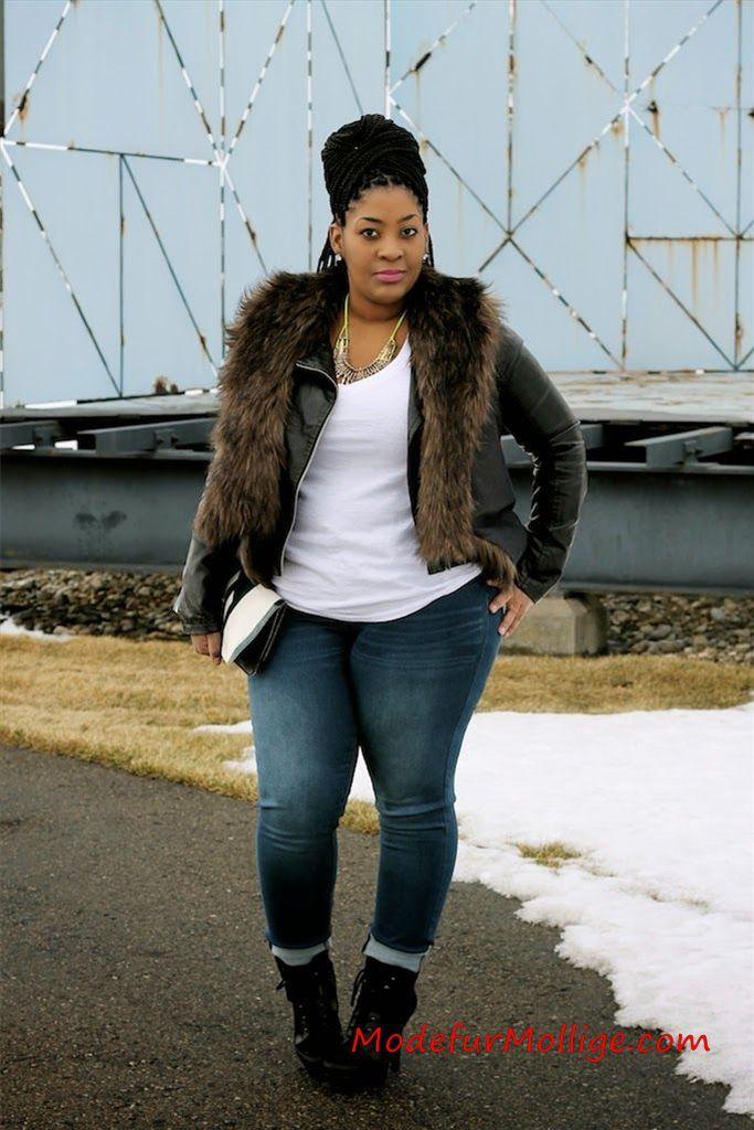Stylische Winter Outfits für Mollige Frauen | Mod…