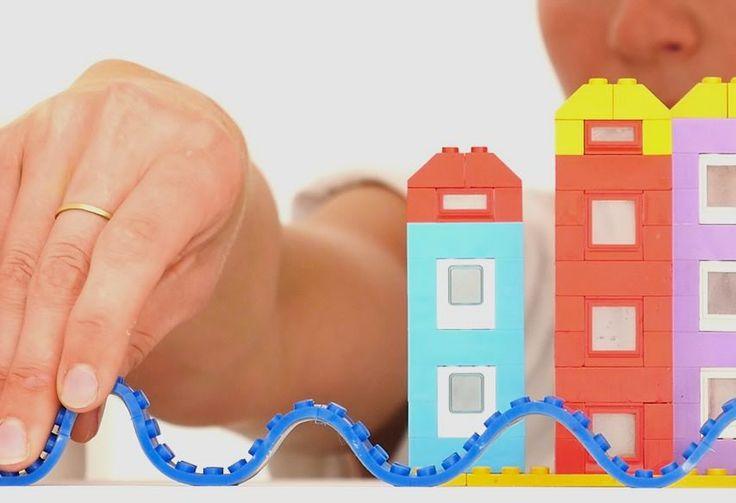 Decoração de casa transformada com Legos