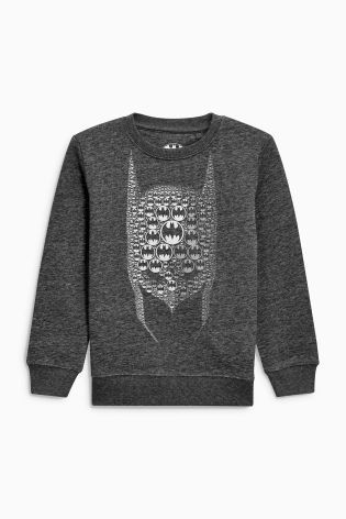 Buy Charcoal Batman® Sweat Top (3-14yrs) online today at Next: United States of America