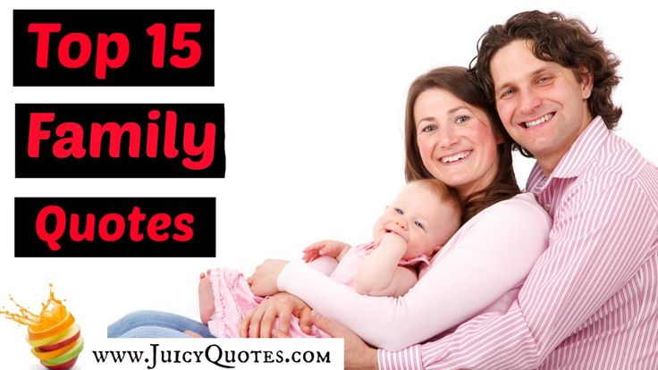 Top 15 Family Quotes and Sayings Video