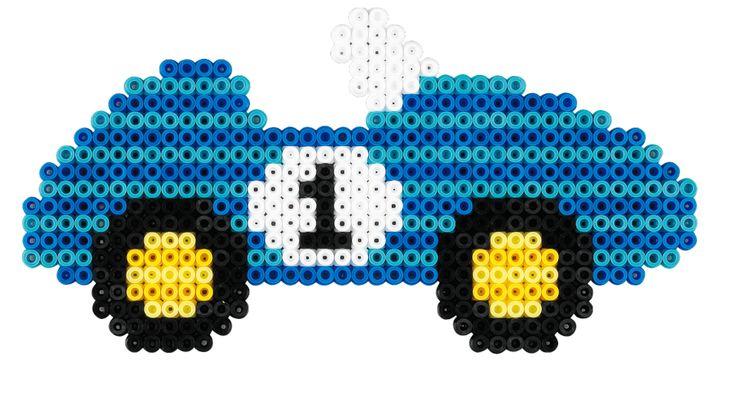 Race Car Hama Beads