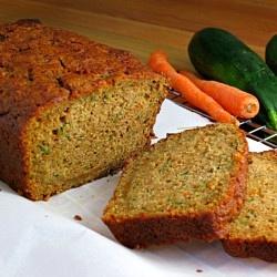Carrot Zucchini Bread by alidaskitchen