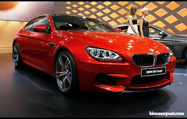 2012 Geneva: BMW M6 Coupe (F13) World Premiere