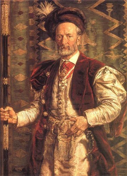 Portrait of Mikołaj Zyblikiewicz - Jan Matejko