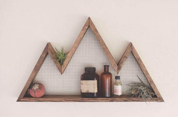 The Mountaineer Wood Shelf - Main Photo