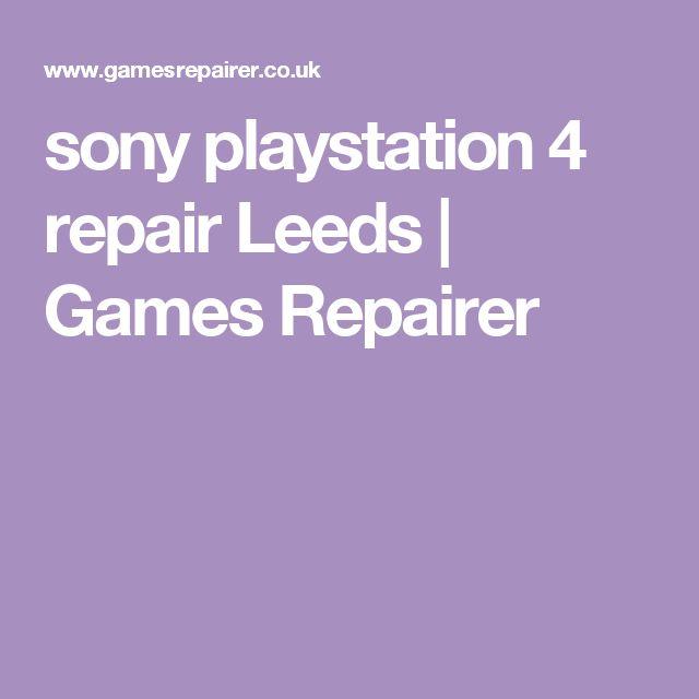 sony playstation 4 repair Leeds | Games Repairer