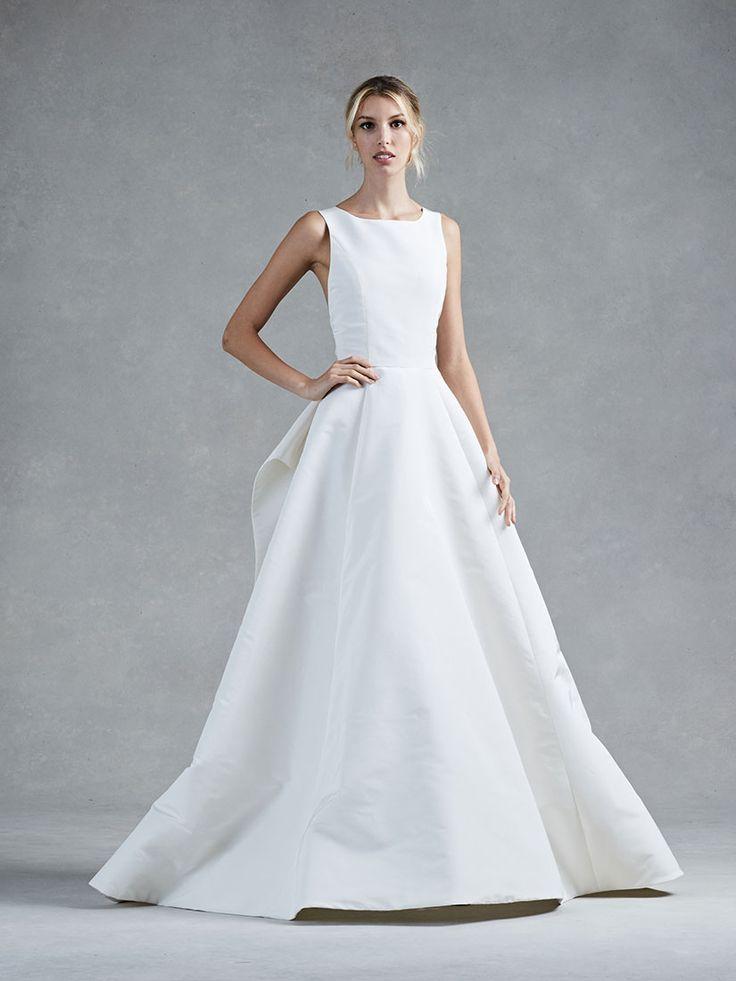 Oscar De La Renta Lace A Line Wedding Dress From