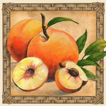 """""""Peaches"""" ~ by Janet Stever"""