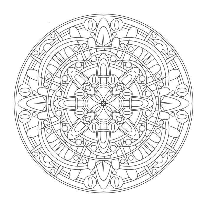 Coloring Mandalas By Chasity