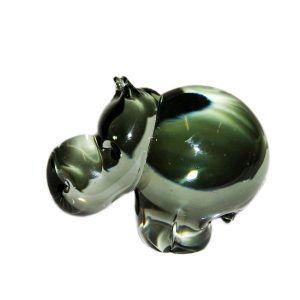 Glass Hippo - Medium