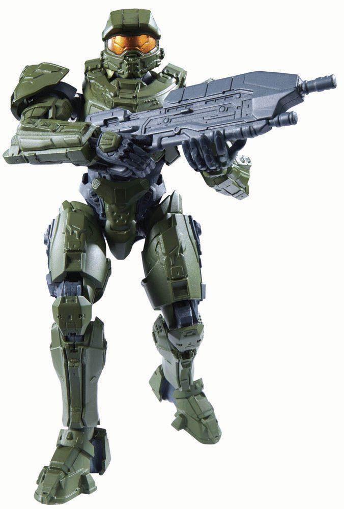Maqueta Master Chief 13 cm. Halo. Bandai Estupenda maqueta para montar del Jefe Maestro o Master Chuief de 13 cm de altura, fabricado en PVC y visto en el videojuego Halo, 100% oficial y licenciada.