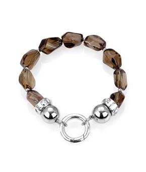 Lovely Kagi smokey quartz bracelet