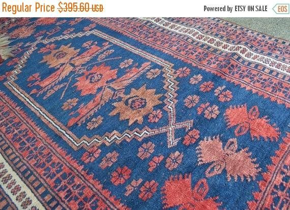15%DISCOUNT FREE SHIPPING Antique Abedan Tribal Rug