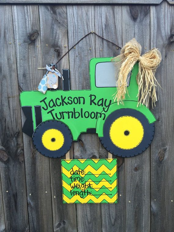 Hey, I found this really awesome Etsy listing at https://www.etsy.com/listing/208976688/hospital-door-hanger-tractor-door-hanger