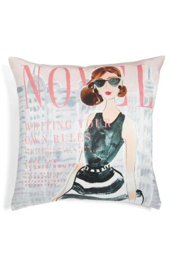 Free shipping and returns on kate spade new york vogue - writing your own rules accent pillow at Nordstrom.com. A chic and playful accent pillow pays homage to a classic fashion mag.