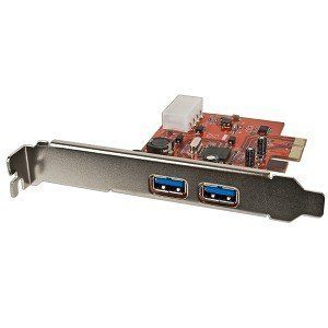 2-Port SuperSpeed USB 3.0 PCI Express x1 Controller Card - Add Two USB 3.0 Ports to Your PC! by Generic. $8.74. 2-Port SuperSpeed USB 3.0 PCI Express x1 Controller Card - Add Two USB 3.0 Ports to Your PC!