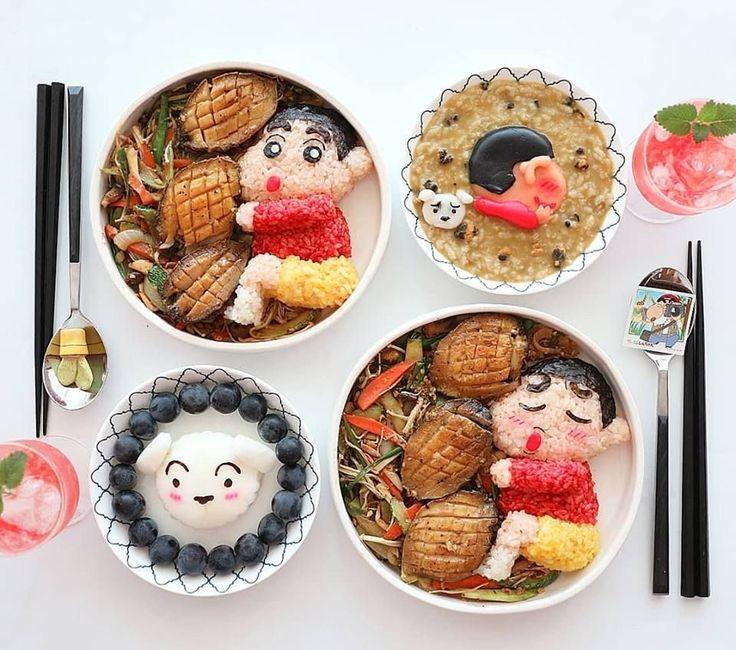 Food style crayon shinchan do you like it ศลปะ