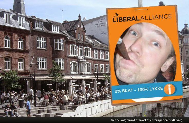 Liberal Alliance valgplakater  (Fundet via en Google-søgning)