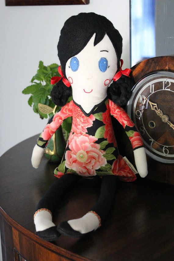 Molly Doll by PuddleducklaneAgain on Etsy