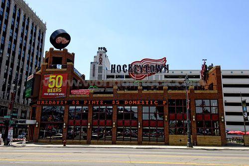(Hockeytown USA) A Local Detroit Michigan Sports Bar Restaurant