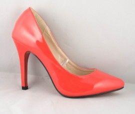 Poze Pantofi Stiletto Rosii 204