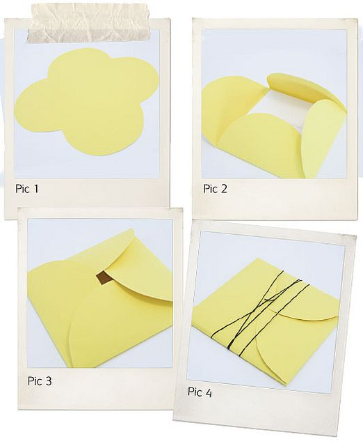 petal envelope steps by idoityourself, via Flickr. Great idea for Digital DVD and/or print packaging.
