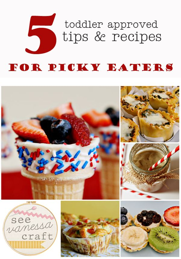 (toddlerhood) 5 tips for picky eaters & toddler approved recipes ( I love the idea for serving fruit in a waffle cone, though I'd only dip the cone in white chocolate and sprinkles if it was dessert. For snack, a plain waffle cone would do.