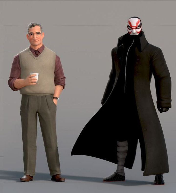 Big Hero 6 Concept Art ★ Find more at http://www.pinterest.com/competing