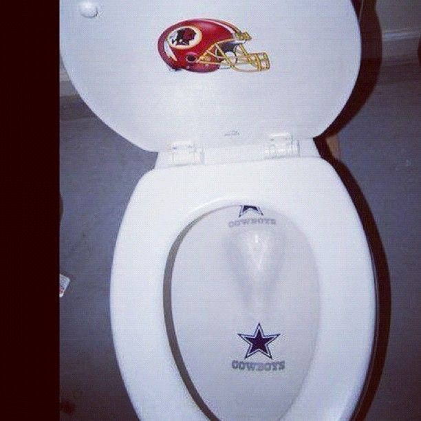 LOL... Obviously change the Redskins for the Pats and the Cowboys for the Jets!