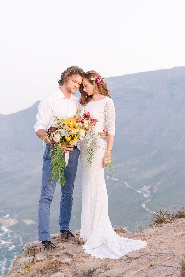 107 best groom groomsmen images on pinterest groomsmen for Casual mountain wedding dresses