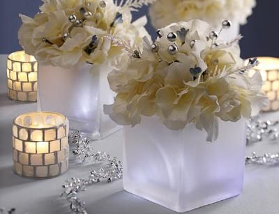 How To Make Lit Centerpieces